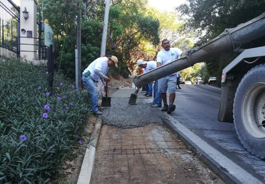 ANA COMPLETES PHASE 1 OF OUR HIGHWAY SIDEWALK PROJECT