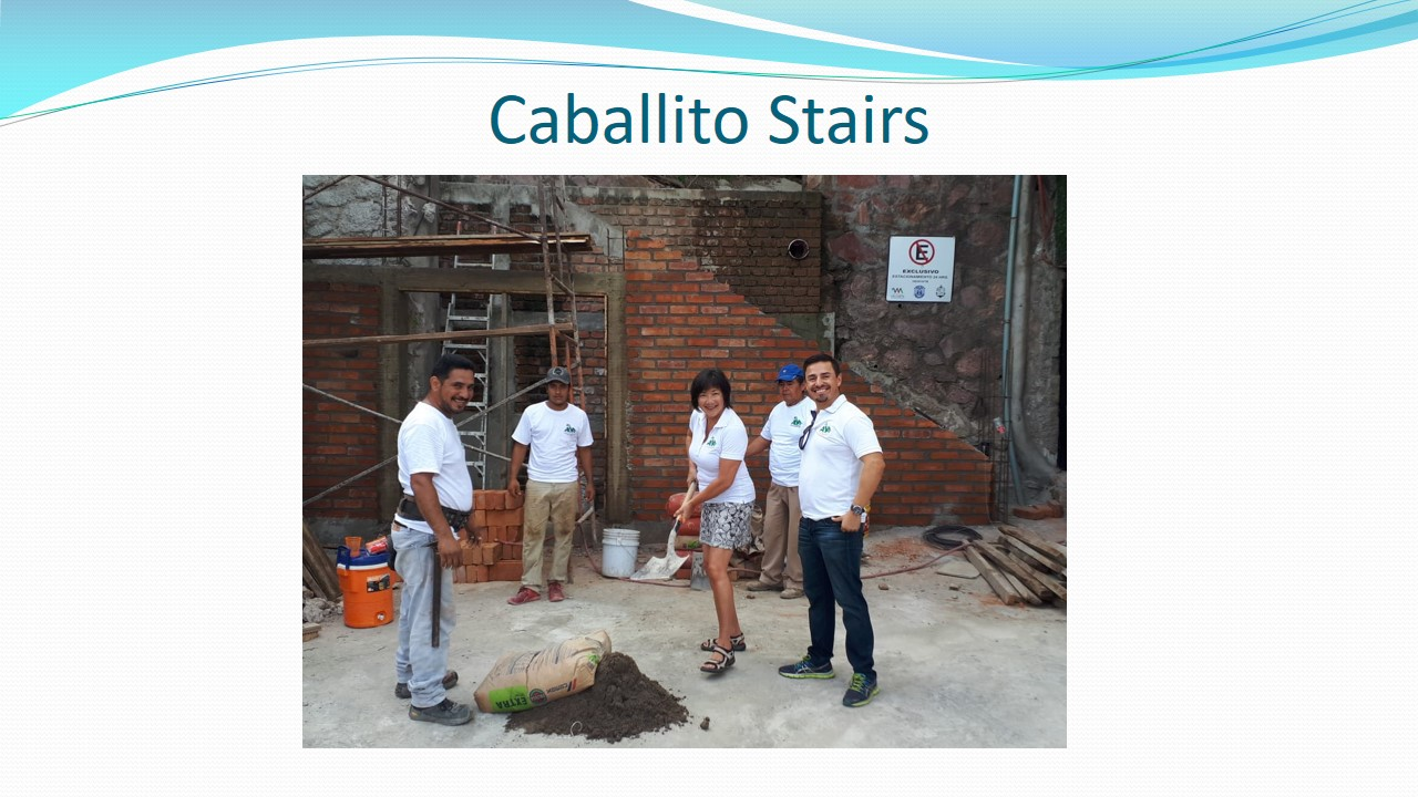 Caballito Stairs Reconstruction Project