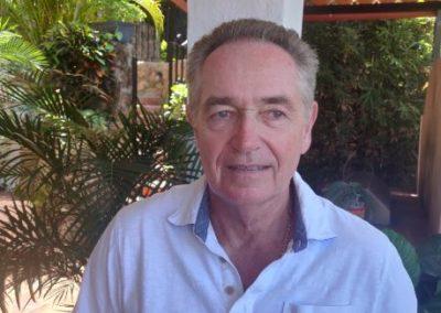Steve Clarke: Treasurer